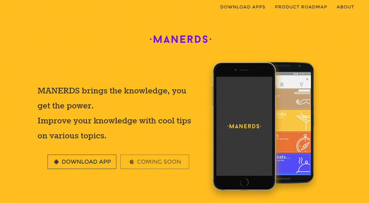 MANERDS App